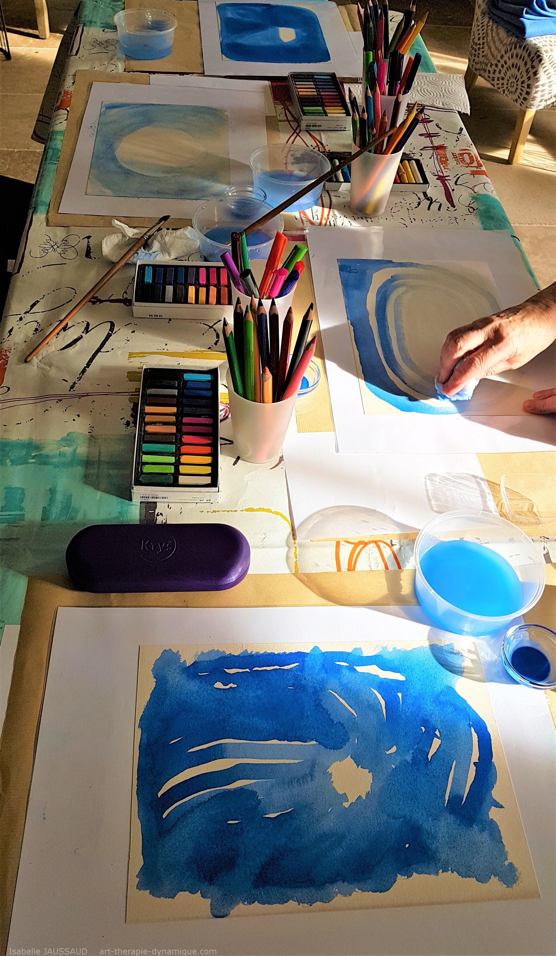 Art-thérapie et week-end ''detox''
